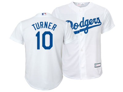 Los Angeles Dodgers Justin Turner MLB Youth Player Replica Cool Base Jersey