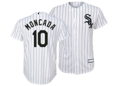 Chicago White Sox Yoan Moncada MLB Youth Player Replica Cool Base Jersey