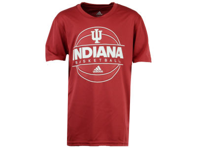 Indiana Hoosiers adidas NCAA Youth On Court T-Shirt