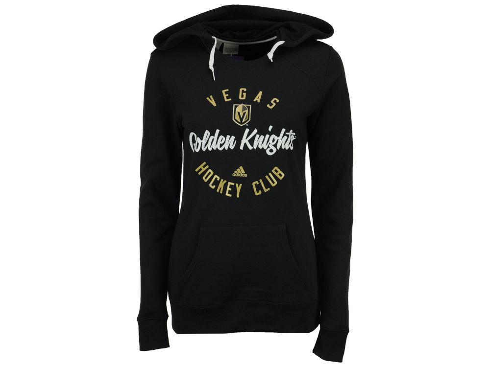 5129108a6 Vegas Golden Knights adidas NHL Women s Fleece Circle Hoodie
