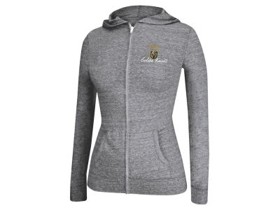 Vegas Golden Knights adidas NHL Women's Full Zip Script Hoodie