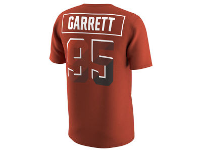 Cleveland Browns Myles Garrett Nike NFL Men's Pride Name and Number Prism T-Shirt