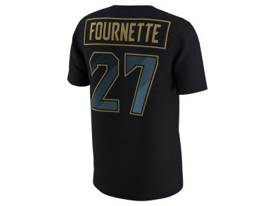 Jacksonville Jaguars Leonard Fournette Nike NFL Men's Pride Name and Number Prism T-Shirt