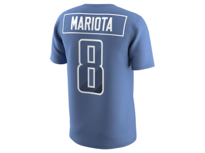 Tennessee Titans Marcus Mariota Nike NFL Men's Pride Name and Number Prism T-Shirt