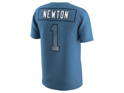 Carolina Panthers Cam Newton Nike NFL Men's Pride Name and Number Prism T-Shirt