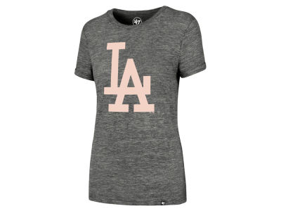 Los Angeles Dodgers '47 MLB Women's Hero Pink Logo T-Shirt