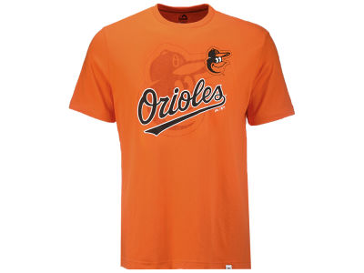 Baltimore Orioles Majestic MLB Men's Intense Action T-Shirt
