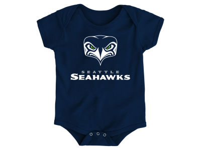 Seattle Seahawks NFL Newborn Alternate Logo Creeper