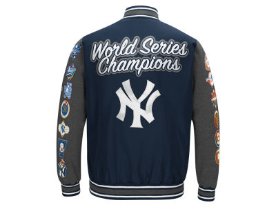 New York Yankees MLB Men's Varisty Comm Patch Jacket