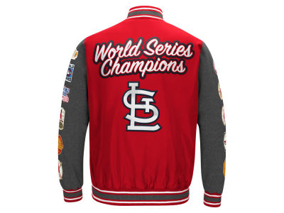 St. Louis Cardinals G-III Sports MLB Men's Varisty Comm Patch Jacket