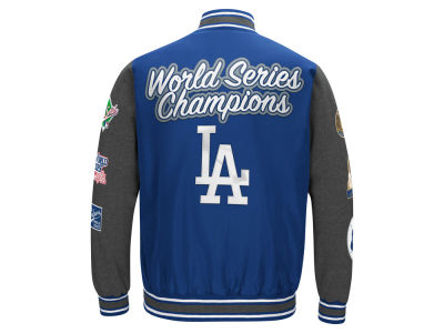 Los Angeles Dodgers MLB Men's Varisty Comm Patch Jacket