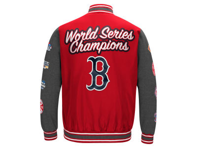 Boston Red Sox MLB Men's Varisty Comm Patch Jacket