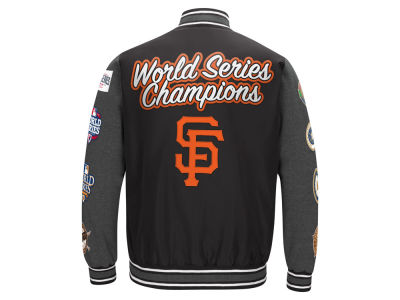 San Francisco Giants MLB Men's Varisty Comm Patch Jacket
