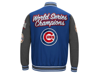 Chicago Cubs MLB Men's Varisty Comm Patch Jacket