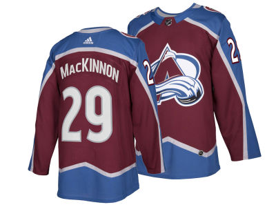 Colorado Avalanche Nathan MacKinnon adidas NHL Authentic Player Jersey