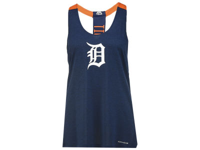 Detroit Tigers Majestic MLB Women's Desire More Scoop Neck Tank