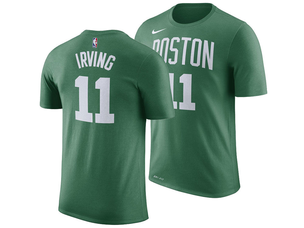eb7201d12b4 Boston Celtics Kyrie Irving Nike NBA Men s Icon Player T-shirt ...