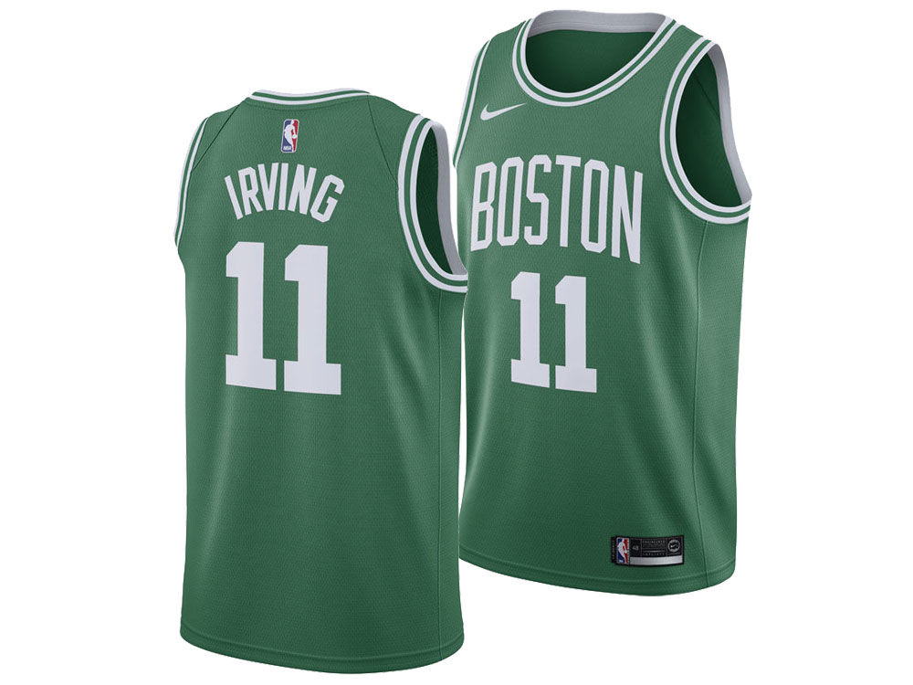 02d83beaefd Boston Celtics Kyrie Irving Nike NBA Men s Icon Swingman Jersey ...