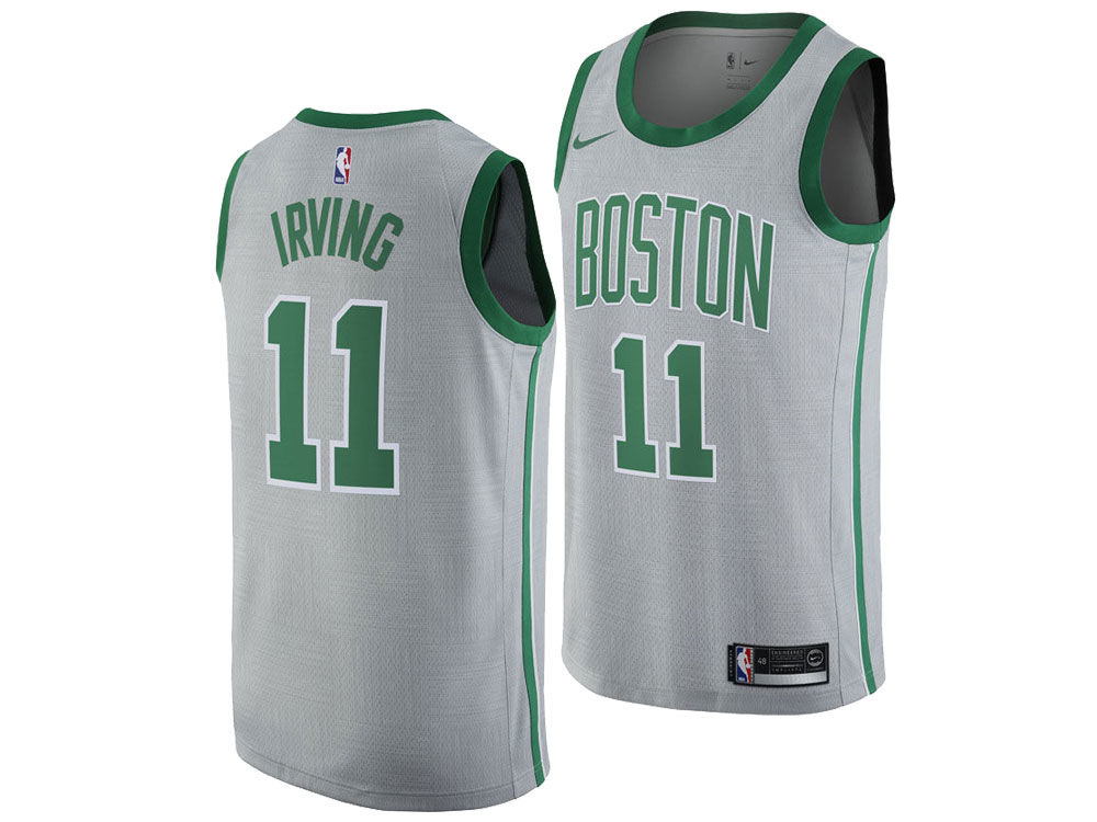 23a049ea0 Boston Celtics Kyrie Irving Nike NBA Men s 2017 City Swingman Jersey ...