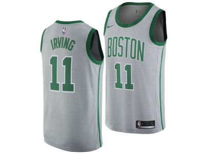 Boston Celtics Kyrie Irving Nike NBA Men's 2017 City Swingman Jersey