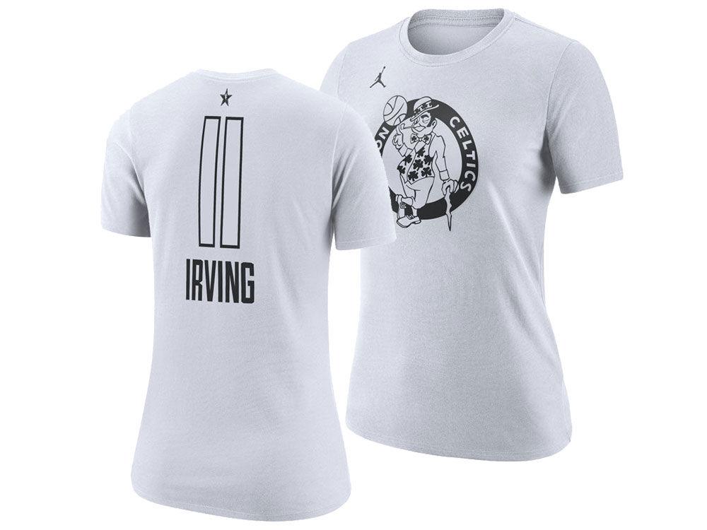Boston Celtics Kyrie Irving Jordan 2018 NBA Women s All-Star Player T-Shirt   8d9d7816af