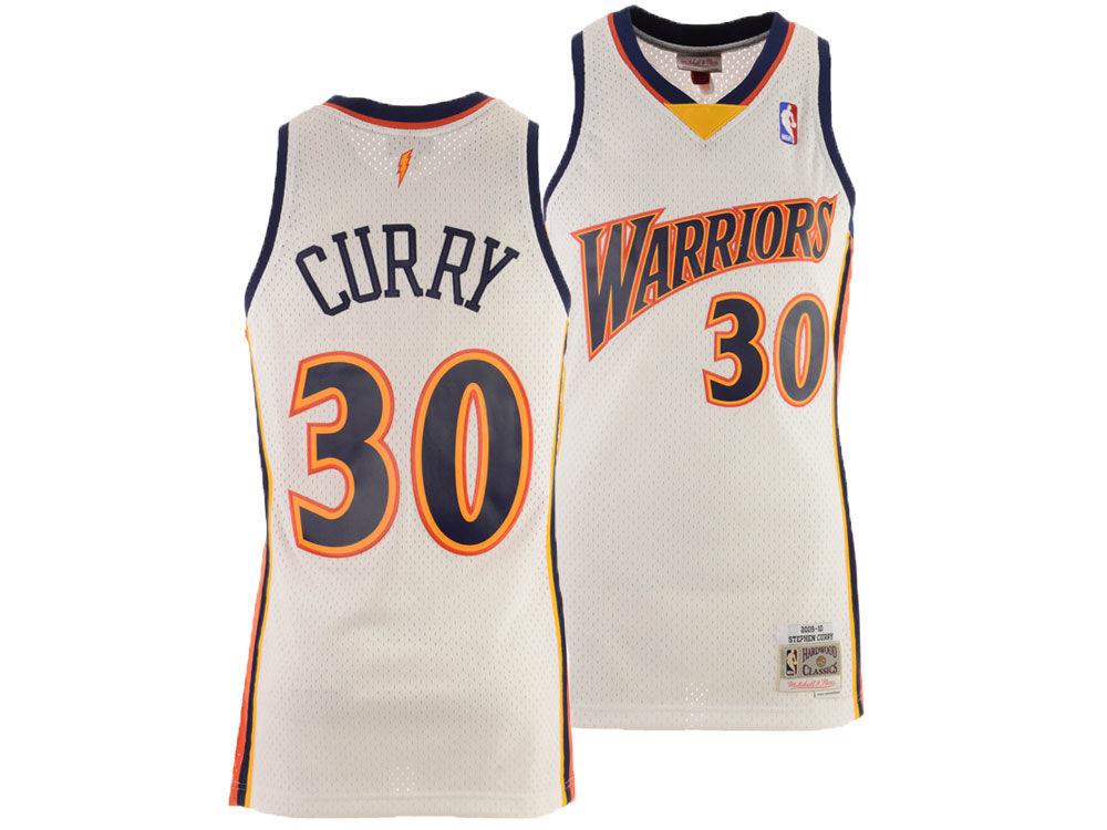 12553cc35 Golden State Warriors Stephen Curry Mitchell   Ness NBA Men s ...