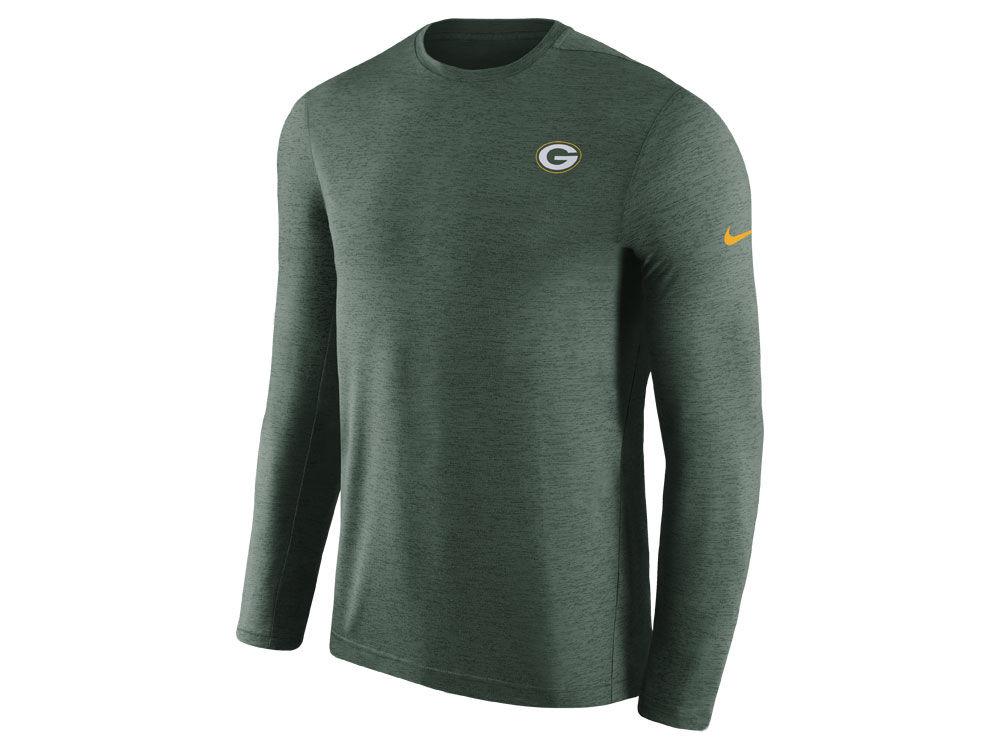 Green Bay Packers Nike 2018 NFL Men s Coaches Long Sleeve T-shirt ... fedea67dd