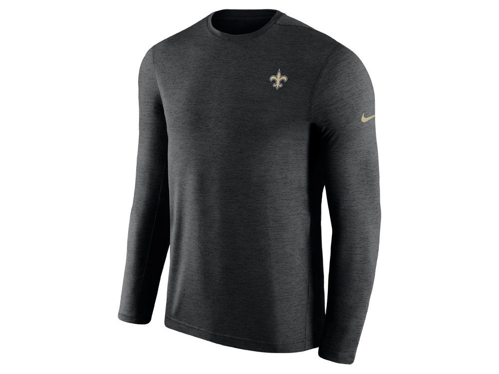05c6eaae5 New Orleans Saints Nike 2018 NFL Men s Coaches Long Sleeve T-shirt ...