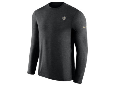 New Orleans Saints Nike 2018 NFL Men's Coaches Long Sleeve T-shirt