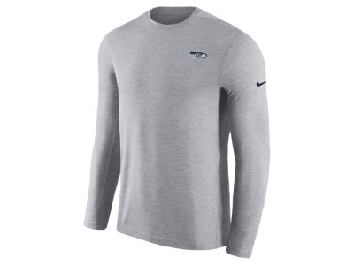 Seattle Seahawks Nike 2018 NFL Men's Coaches Long Sleeve T-shirt