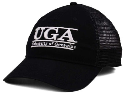 Georgia Bulldogs The Game NCAA Black Mesh Bar Cap