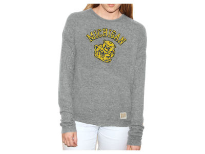 Michigan Wolverines Retro Brand NCAA Women's Haachi Crew Sweatshirt