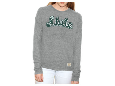 Michigan State Spartans Retro Brand NCAA Women's Haachi Crew Sweatshirt