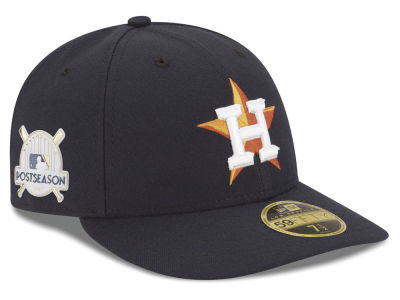 Houston Astros New Era 2017 MLB Post Season Low Profile Patch 59Fifty Cap