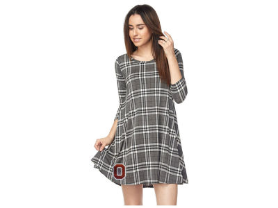 Ohio State Buckeyes Gameday Couture NCAA Women's Plaid  Dress
