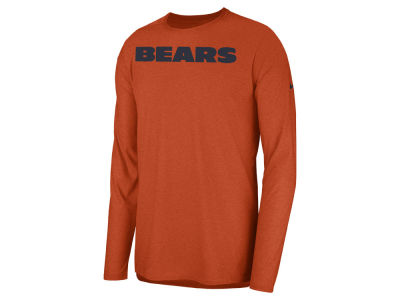 Chicago Bears Nike 2018 NFL Men s Player Top Long Sleeve T-shirt f747fd3ab