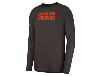 Cleveland Browns Nike 2018 NFL Men's Player Top Long Sleeve T-shirt