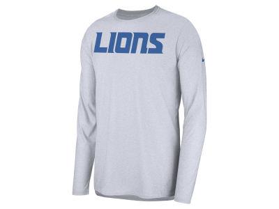 Detroit Lions Nike 2018 NFL Men s Player Top Long Sleeve T-shirt 5f7a2554b