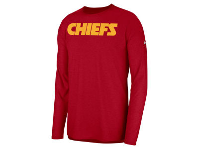 Kansas City Chiefs Nike 2018 NFL Men's Player Top Long Sleeve T-shirt