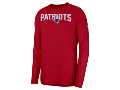 New England Patriots Nike 2018 NFL Men's Player Top Long Sleeve T-shirt