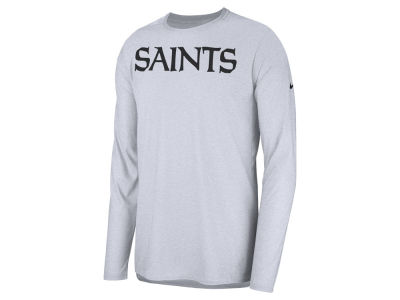 New Orleans Saints Nike 2018 NFL Men's Player Top Long Sleeve T-shirt