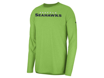 Seattle Seahawks Nike 2018 NFL Men's Player Top Long Sleeve T-shirt