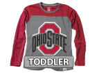 Ohio State Buckeyes NCAA Toddler Girls Raglan Jersey T-Shirt T-Shirts
