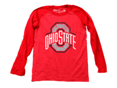 Ohio State Buckeyes Wes and Willy NCAA Youth Raglan Long Sleeve T-Shirt