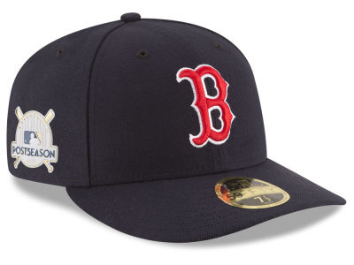 Boston Red Sox New Era 2017 MLB Post Season Low Profile Patch 59Fifty Cap