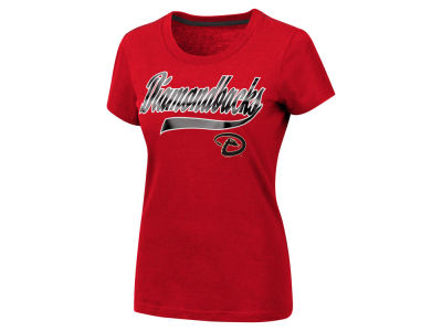 Arizona Diamondbacks MLB Women's Script Foil T-Shirt