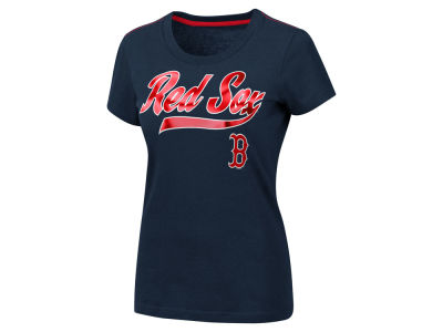Boston Red Sox MLB Women's Script Foil T-Shirt