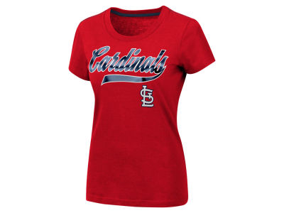 St. Louis Cardinals MLB Women's Script Foil T-Shirt