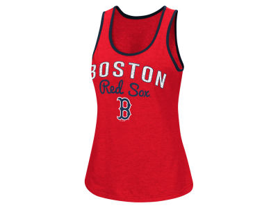 Boston Red Sox G-III Sports MLB Women's Power Punch Glitter Tank