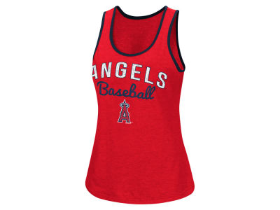 Los Angeles Angels MLB Women's Power Punch Glitter Tank